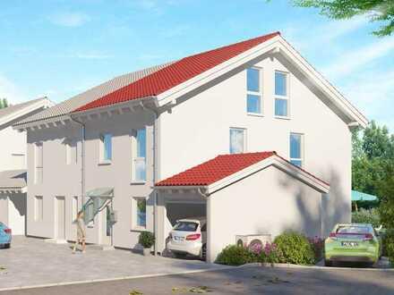Neubauprojekt mit 4 familienfreundlichen Doppelhaushälften - in Hagenheim bei Hofstetten