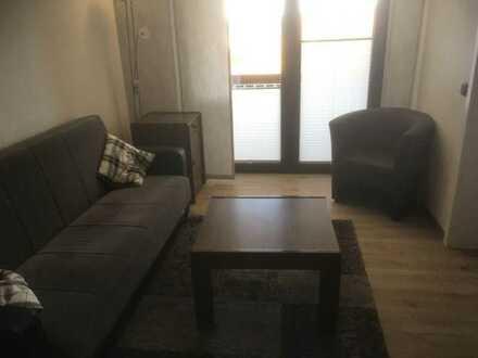 Vollmöbilierte und modernisierte 2-Zimmer-Wohnung mit Einbauküche und Balkon in Gerolstein