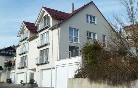 Exkl. ausgest., neuwertige 3 1/2 Zimmerwohnung mit EBK u. ca. 20 m² Terrasse