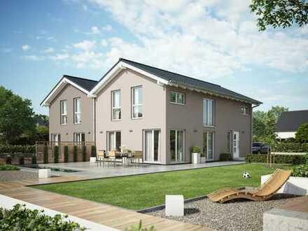 Hier Bauen wir für Sie Ihr KFW 40 Niedrigenergie Haus.