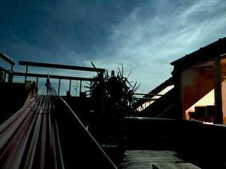 Künstler-Loft mit Dachterrasse