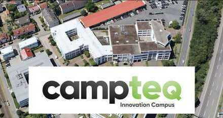 Campteq - Ihre neue Fläche im Innovation Campus Griesheim - ab sofort besichtigen und reservieren!