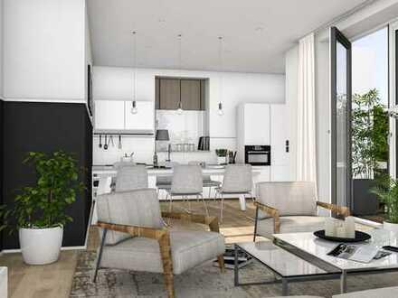 Exklusiver Neubau - 3,5 Zimmer, zwei Bäder, großer Süd-Balkon, Aufzug, Tiefgarage, WE 7
