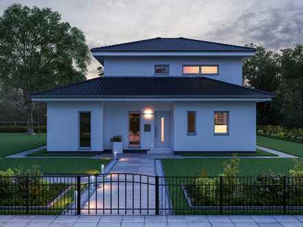 attraktives Einfamilienhaus mit außergewöhnlichem Stadtvillen-Stil