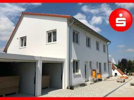 Neubau: Doppelhaushälften in Mönstetten