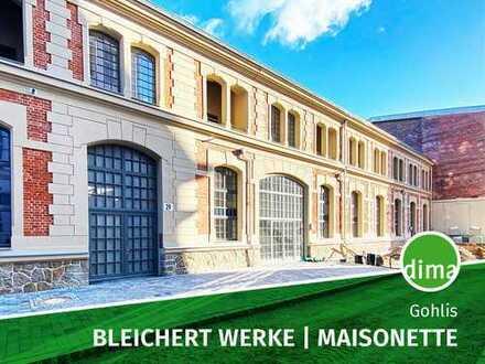 ERSTBEZUG | BLEICHERT WERKE | EG-Maisonette-Wohntraum mit 2 modernen Bädern, HWR, Terrasse, Parkhaus