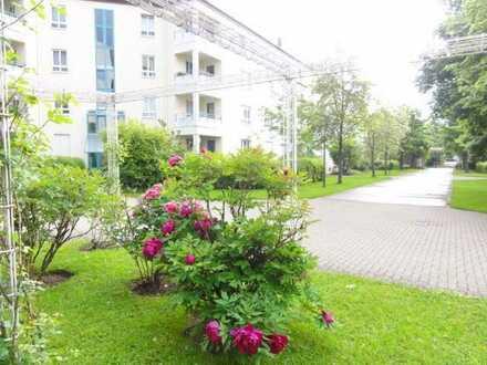 Gepflegte und ruhige Gartenwohnung