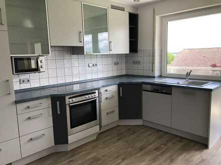 Gepflegte 3-Zimmer-EG-Wohnung mit Terrasse und Einbauküche in Elchingen