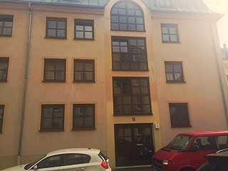 Vermietete 2- Zimmer - Wohnung - Augsburg mit kleinem Garten.