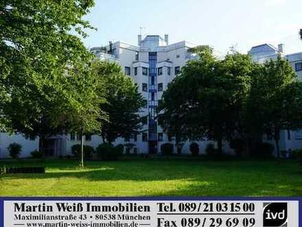 Dachterrassen-Penthouse in Taufkirchen mit Alpenblick