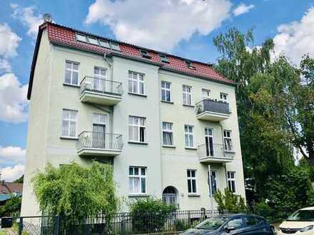 TOP-Lage in Berlin-Mahlsdorf - vermietete Eigentumswohnung im sanierten Altbau mit schönem Garten