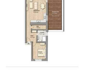 -Neubau- Exclusive Wohnung mit großer Terrasse