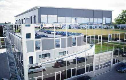 GAIMERSHEIM Gewerbegebiet - Hallen-Studiofläche mit Büro optional.
