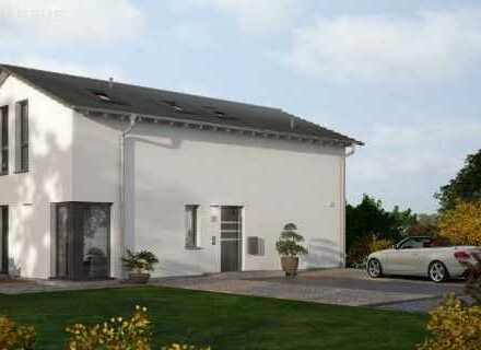 Inklusiv Bauplatz-Einfamilienhaus Life 14 V1 -Aktion limitiert Sonderpreis auf Keller & Bodenpla