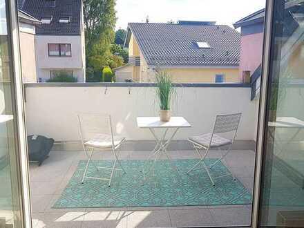 Charmante 3-Zimmer-Maisonette-Wohnung mit Loggia und Einbauküche im Mäuerach