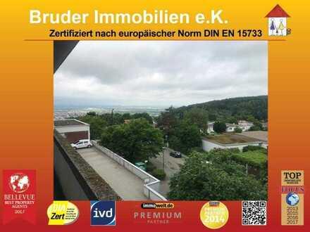 HD-Boxberg: OPEN HOUSE 24.7. 11.00-12.00h, 2 ZKB, Blick übers Tal vom großen Balkon, keine K-Prov.