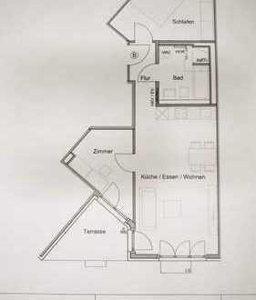Erstbezug: Helle 2,5-Zimmer-Wohnung in Aubing, München