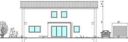 Neubau eines Einfamilienhauses in Hallbergmoos/Goldach