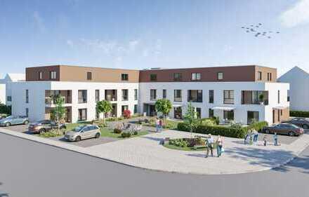 Rohbauphase! Betreutes Wohnen für Senioren im Zentrum von Dettenheim-Rußheim, schlüsselfertig