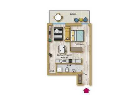 Neubau für alle Generationen! Schicke 2 ZKB Wohnung in ruhiger Lage!