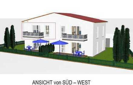 Sonnige Neubau Eigentumswohnung im Neubaugebiet Edelsfeld West mit 67,44 m² im 1. OG