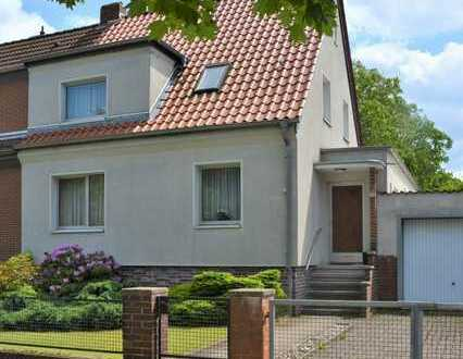 RICKLINGEN, schöne Doppelhaushälfte mit Terrasse und Garten