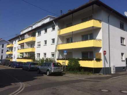 Schöne 2 ZKB in Baden-Baden/Oos, ruhige Lage nahe Bhf, 65 qm, 550,- € +NK/HZ