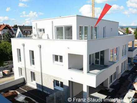 NEUBAU: Exklusive Penthouse-Wohnung in Goldbach mit großer Dachterrasse