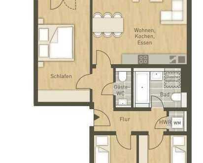Ruhige und sonnige 4-Zimmer-Wohnung direkt am Volkspark Wilmersdorf