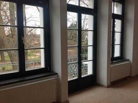 Attraktive, individuelle Wohnung in Villa