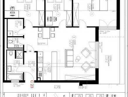 Stilvolle, gepflegte, ruhige 4-Zimmer-Dachgeschosswohnung in Parkresidenz