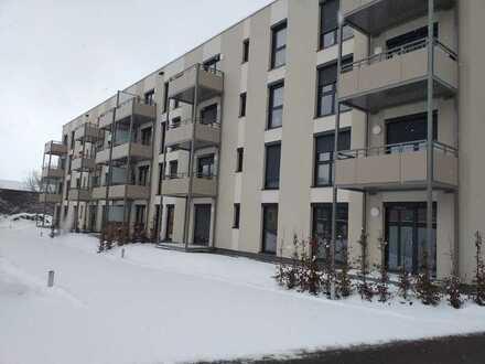 Bad Berneck, Erstbezug, 3-Zimmer mit Terrasse