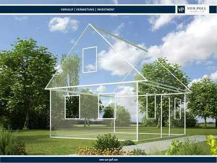 Premium Baugrundstück in fußläufiger Stadtlage mit vorliegender Baugenehmigung einer Neubauvilla