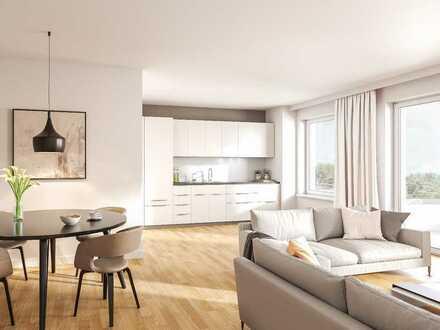**Ca. 77m² Terrasse in bester Lage ** Helle 4-Zimmer-Wohnung mit offenem Wohn-/Essbereich + 2 Bädern