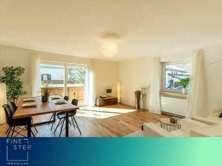 Renoviert und bezugsfertig: 3-Zimmer-Wohnung mit Bergblick
