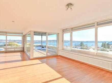Penthouse in Bestlage mit großartigem Panorama See- und Alpenblick