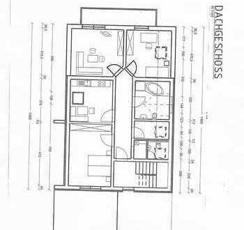 Neuwertige 3-Zimmer-DG-Wohnung mit Balkon in Neustadt Donau