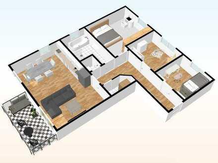 Whg. - 09 - im DG mit 97,92 m²