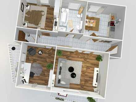 Helle 3-Zimmer-Wohnung mit 2 Balkon in Bad Vilbel-Gronau
