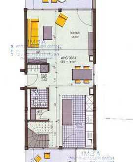 RT-City: Moderne sehr große 3-Zi.-Wohnung mit viel Licht und Sonne