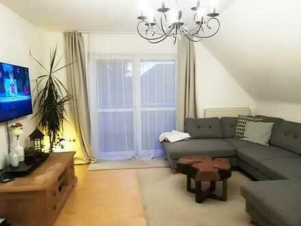 Gepflegte 3-Zimmer-DG-Wohnung mit Balkon und EBK in Kreuzwertheim