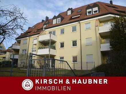 Klasse Domizil für die junge Familie! Renovierte 3-Zi.-ETW mit großem Balkon, Feucht - Ludwig-T...