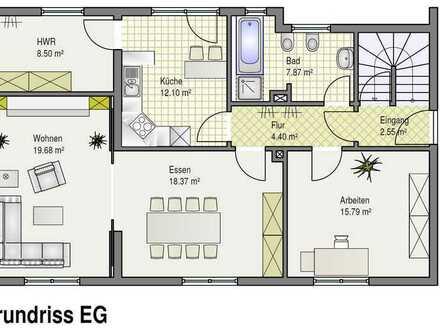 Ansprechendes Einfamilienhaus mit sieben Zimmern und Einbauküche in Olpe