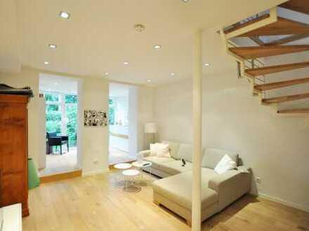 Stilvolle 5-Zimmer-Wohnung mit eigenem Garten in Oberkassel!