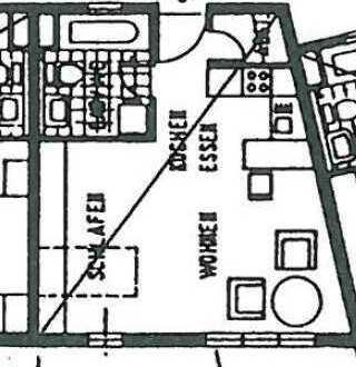 Vollständig renovierte 1-Zimmer-Wohnung mit EBK in Bruchsal