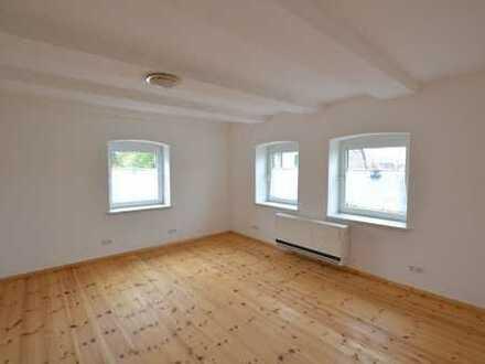 Erstbezug nach Sanierung und Renovierung: 4-Zimmer-Wohnung mit Garage und Gartennutzung!