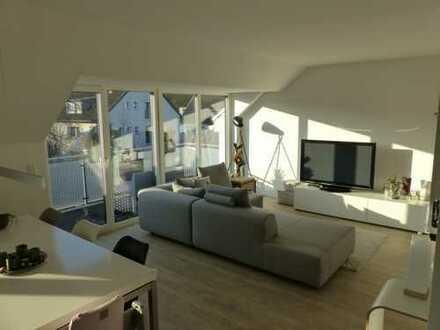 Exklusive, neuwertige 4-Zimmer-Maisonette-Wohnung mit Balkon im 3 Familen Haus in Mülheim Speldorf
