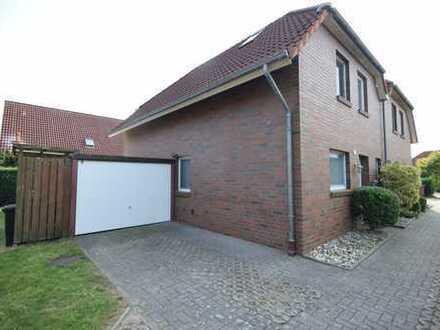 Schöne Doppelhaushälfte Schortens/Friesland Sackgassenlage