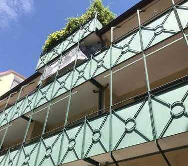 zentrale Lage Nähe Wilhelma - Appartement mit Südwest-Balkon u. TG-Platz - vermietete Kapitalanlage
