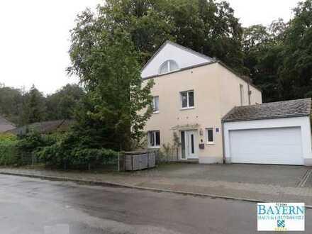 TOP-LAGE SOLLN: Freistehende Villa 8 Zimmer, Wfl. 241qm, Dachterrasse 13qm, Parkgrund 1.250 qm